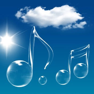 在音乐中今天的记忆